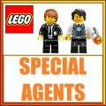 Agenti Speciali Minifigures