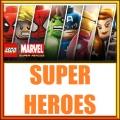 Superhero minifigure