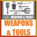 Lego armi e attrezzi e accessori