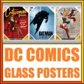 Dc Glass Poster