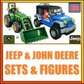 Megabloks Jeep e John Deere