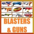 Nerf Blasters and Guns