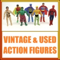 Used and Vintage Action Figures