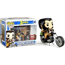 Funko POP! Marvel Wolverine's Motorcycle Exclusive