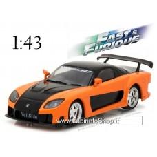 Greenlight 86212 Han's 1997 Mazda RX-7 Fast And Furious Tokyo Drift Diecast 1:43