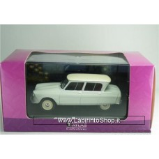 ATLAS EDITIONS - CITROEN AMI 6 - WHITE - 1/43.SCALE MODEL CAR