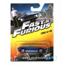 Mattel Fast & Furious Ford GT-40