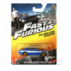 Mattel Fast & Furious 1970 Ford Escort RS1600 MK1