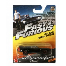 Mattel Fast & Furious 1970 Dodge Charger Off-road