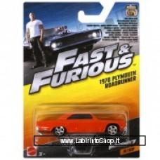 Mattel Fast & Furious 1970 Plymouth Roadrunner