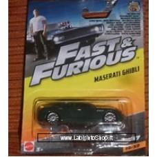 Mattel Fast & Furious Maserati Ghibli