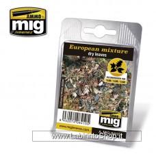 European Mixture - Dry Leaves