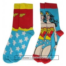 DC Comics Ladies Socks 2-Pack Wonder Woman