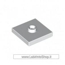 Megablok - Tile 2 x 2 con attacco superiore per parti rotanti