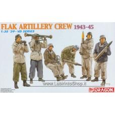 Dragon Flak Artillery Crew 1943-45