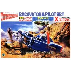 Aoschima Electric Thunderbirds X-car & Pilot set