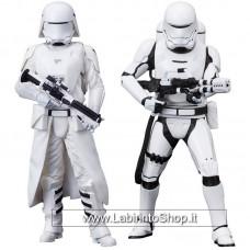 Star Wars Episode VII ARTFX+ Statue 2-Pack First Order Snowtrooper & Flametrooper