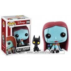 Funko Pop! Disney Sally (Seated with Cat) Glow in the dark and Flocked