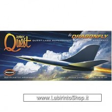Moebius Models 1:144 Scale Dragonfly Suborbital Aircraft From Jonny Quest