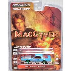 Greenlight 1/64 Hollywood 1987 Pontiac Firebird Macgiver