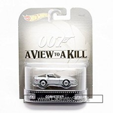 Hot Wheels 007 A View to a Kill Corvette