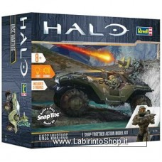 Revell Halo Unsc Warthog Build and Play Snap kit