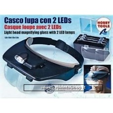 Hands Free Glasses with Magnifier with 2 Leds