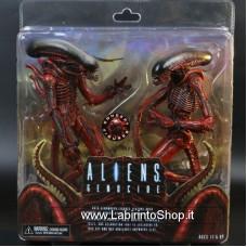 NECA Alien Genocide Red Xenomorph Concept 7 Action Figures 2 Pack Set
