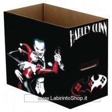 DC COMICS JOKER & HARLEY QUINN SHORT COMIC STORAGE BOX