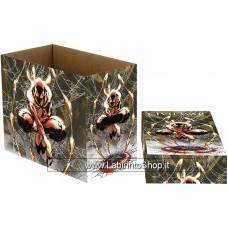 Marvel SpiderI-Man Web Short Comics Storage Box