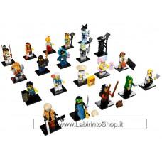 Lego minifigure serie Ninjago - Completa 20 pezzi