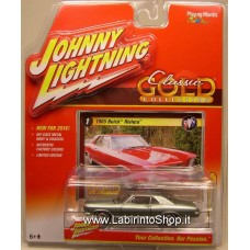 Johnny Lightning Classic Gold 1/64 1965 Buick Riviera Silver