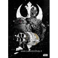 Star Wars Metal Poster Episode VII Pilots Shuttle 10 x 14 cm