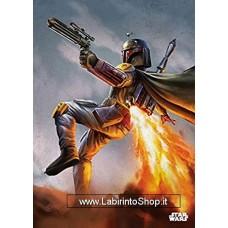 Star Wars Metal Poster Episode IV Boba Fett 10 x 14 cm