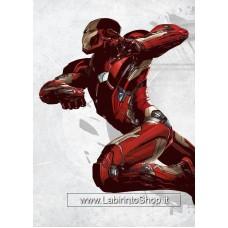 Star Wars Metal Poster Episode IV Iron Man 10 x 14 cm