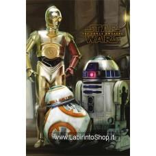 Star Wars Episode VII Mini Poster Pack Droids 40 x 50 cm