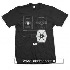 Star Wars T-Shirt Tie Fighter