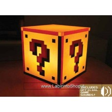 Super Mario Bros Light Question Block 18 cm
