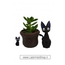 Kiki's Delivery Service Plant Pot Jiji & Basket lunghezza 8 cm
