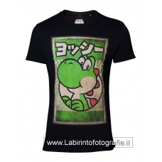 Super Mario T-Shirt Propaganda Poster Inspired Yoshi