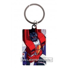Transformers Metal Keychain Starscream 6 cm