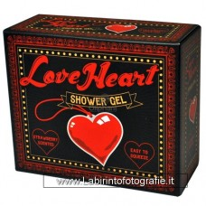 Love Heart Shower Gel