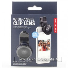 Wide angle clip lens