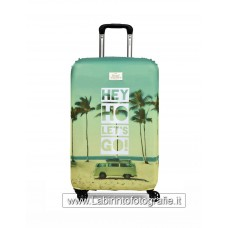 Luggage Cover Hey Ho Let's Go