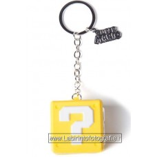 Nintendo Rubber Keychain Question Mark Box 7 cm