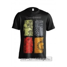 Game of Thrones T-Shirt 4 Logos