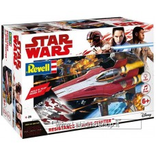 Star Wars The Last Jedi: Build & Play Model Kit: Resistance A Wing Red