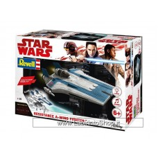 Star Wars The Last Jedi: Build & Play Model Kit: Resistance A Wing Blue