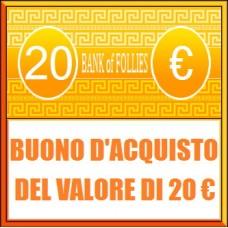 Buono Acquisto del Valore di 20 euro