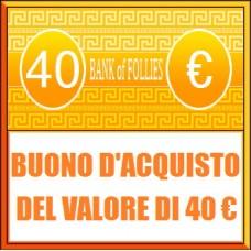 Buono Acquisto del Valore di 40 euro